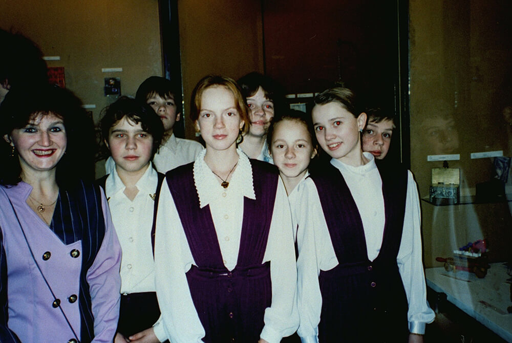 Russian School Girls