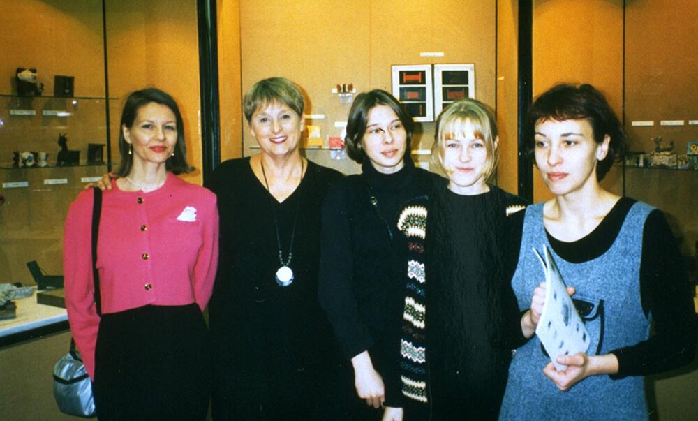 Elisabeth Haitto Connah, WBB Sweden/Finland curator, Lorraine Serena,WBB Russia artists, Polina Fedorova WBB Russia curator