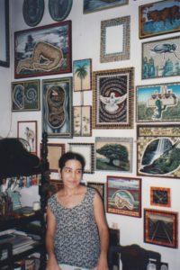 Jacqueline Brito in her studio