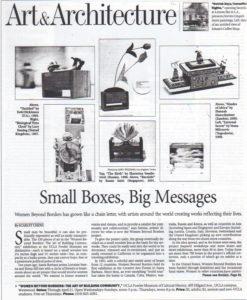 WBB Retrospective Press LA TIMES Page 1