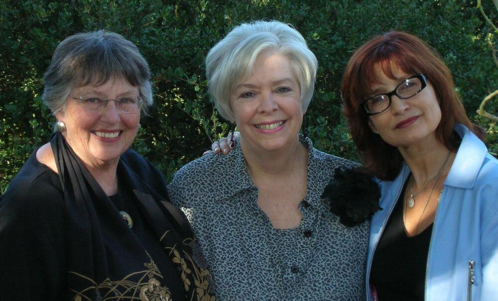 Pat McClure, Betsy Kain, and Rita Rivest